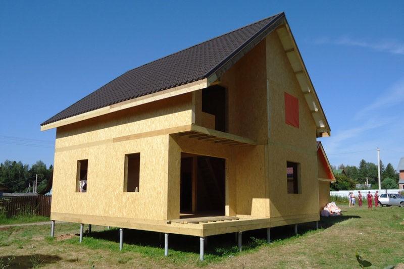 Строительство из сип-панелей