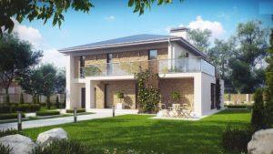 Большой и уютный дом с витражными окнами 160 кв.м