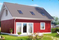 Практичный дом, недорогой в обслуживании 117 кв.м