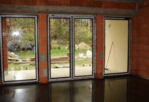 Одноэтажный дом с угловым окном на кухне 110 кв.м