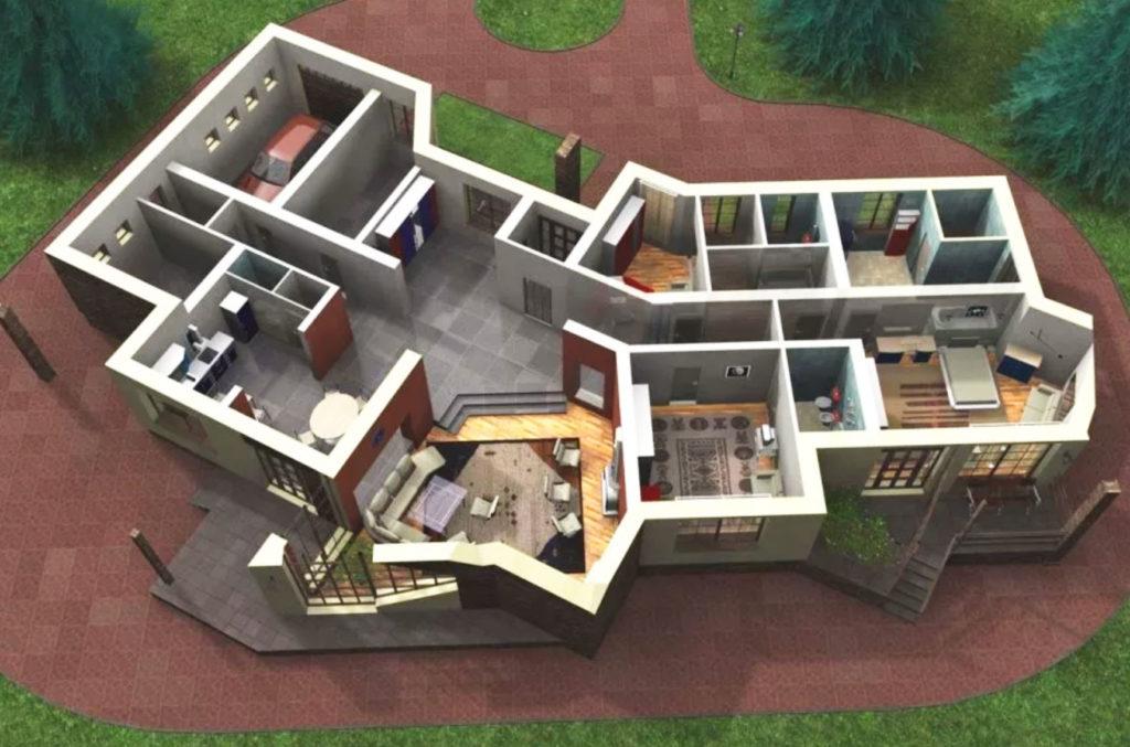 Планирование строительства дома, для экономии энергии