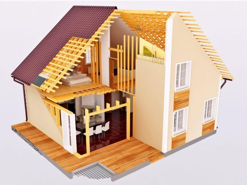Особенности каркасного строительства домов в Сочи