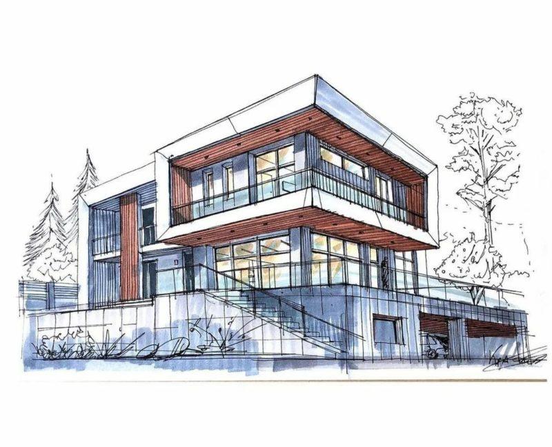 Строительство дома в Сочи начальный этап